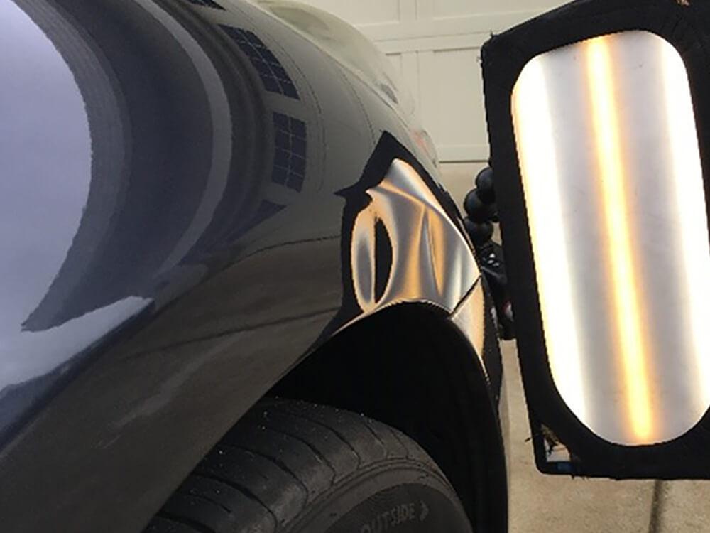 Paintless Dent Repair Infiniti Fender - El Dorado Hills, CA