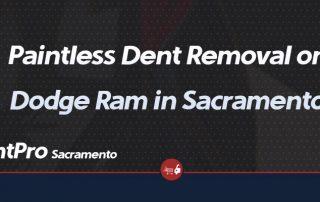 Dodge Ram - Paintless Dent Repair