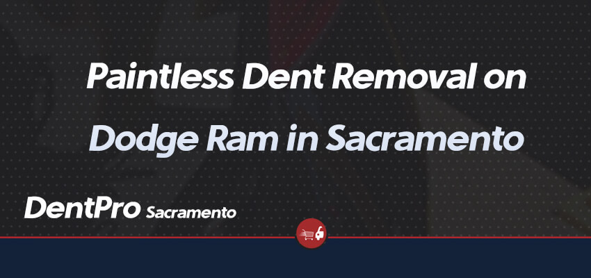 Dodge Ram - Paintless Dent Repair